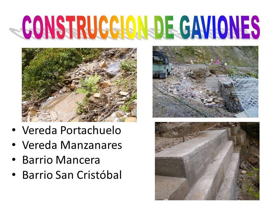 CONSTRUCCION DE GAVIONES