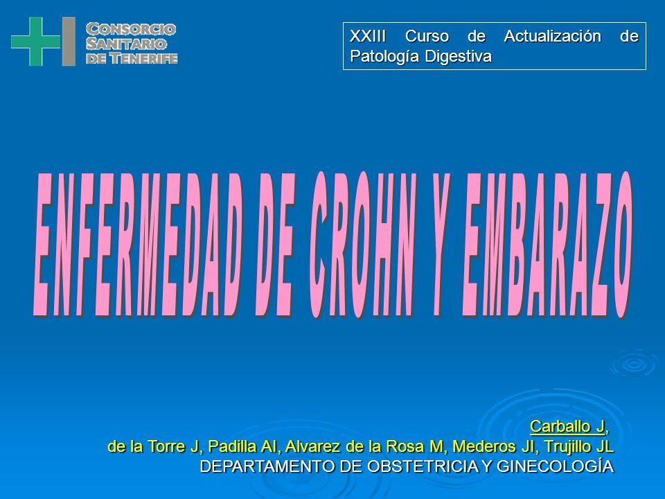 ENFERMEDAD DE CROHN Y EMBARAZO