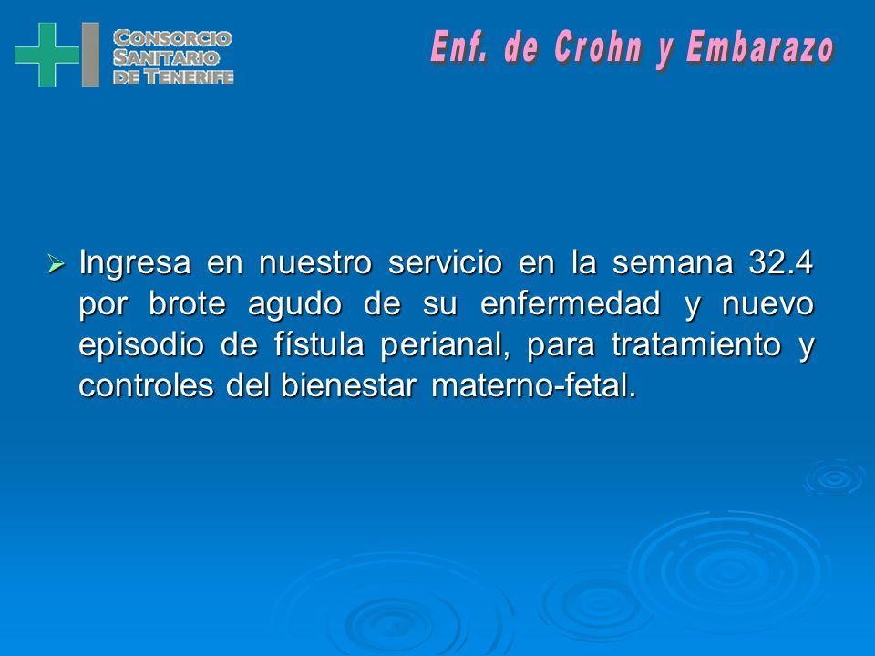 Enf. de Crohn y Embarazo
