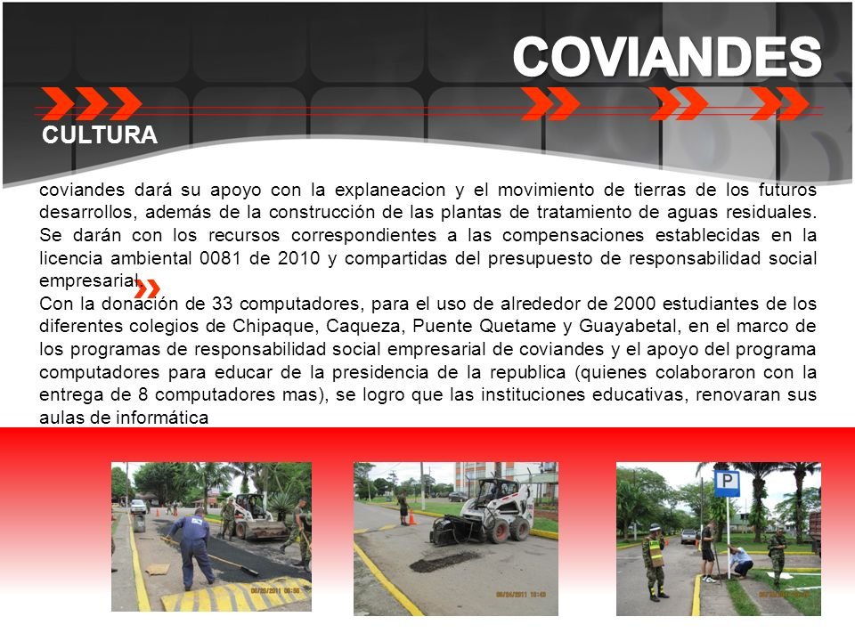 COVIANDES CULTURA.