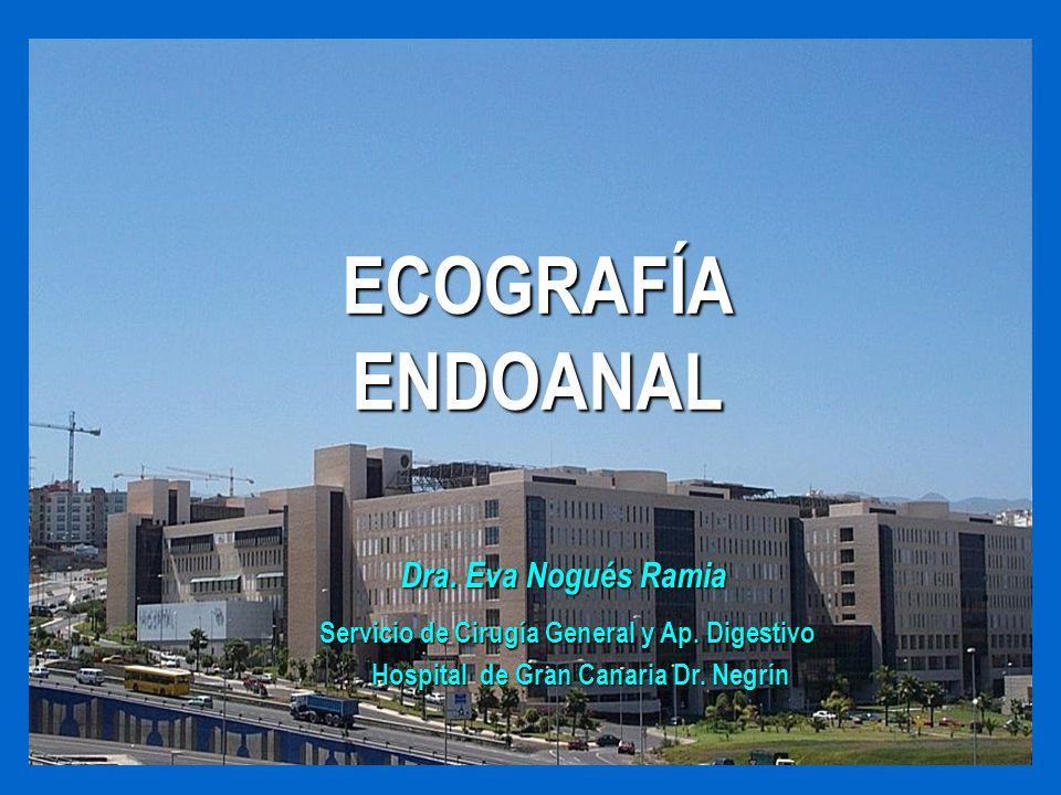 ECOGRAFÍA ENDOANAL Dra. Eva Nogués Ramia