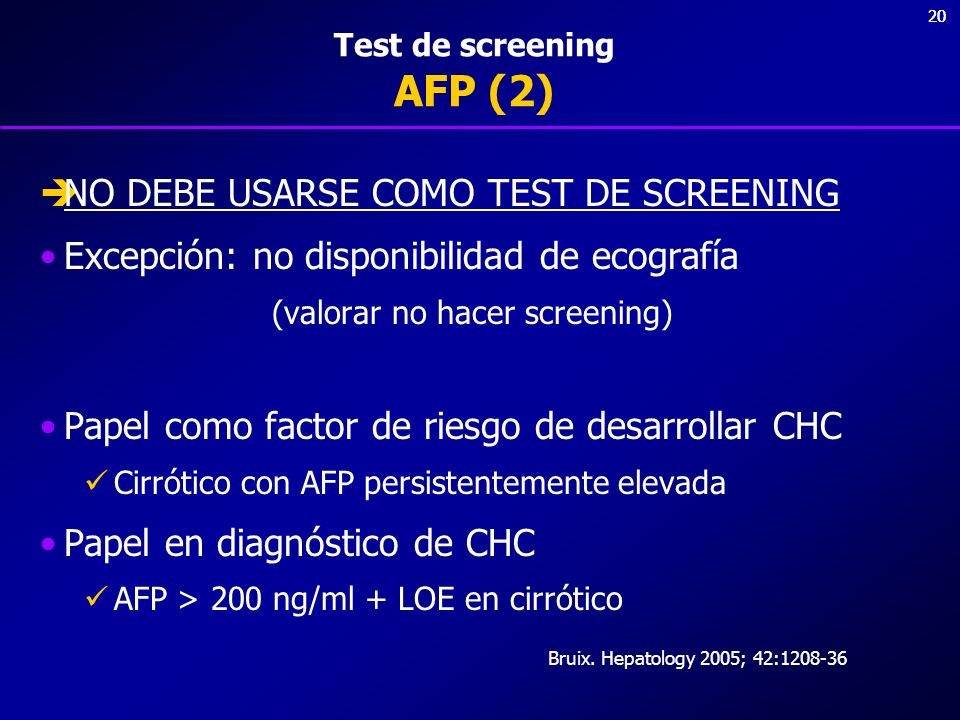 Test de screening AFP (2)