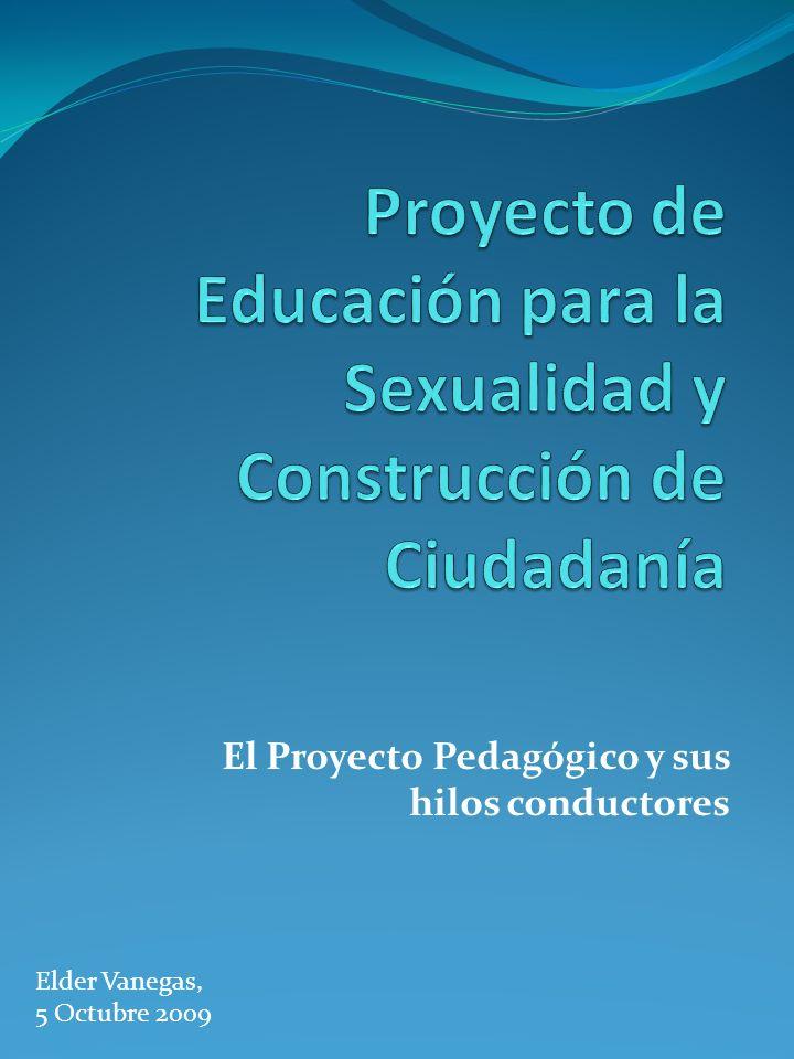 Proyecto de Educación para la Sexualidad y Construcción de Ciudadanía