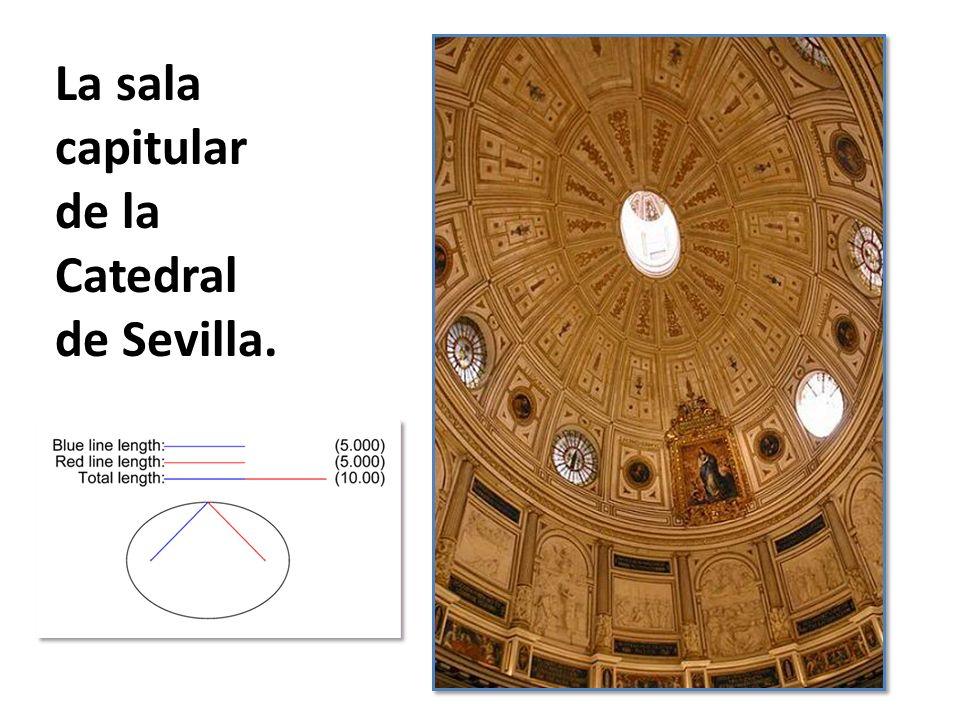 La sala capitular de la Catedral de Sevilla.