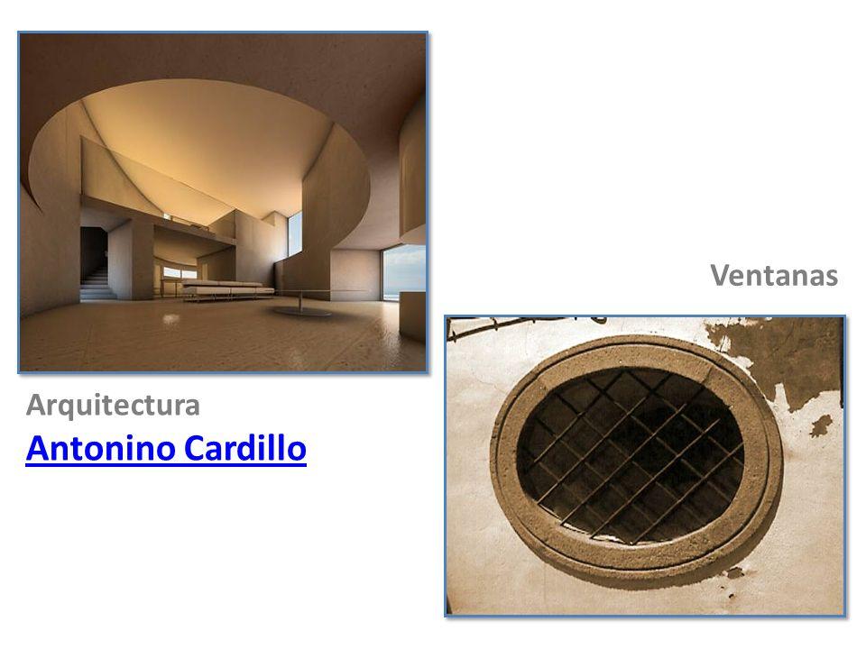Ventanas Arquitectura Antonino Cardillo