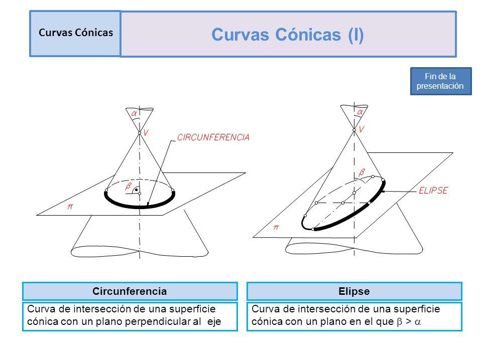 Curvas Cónicas (I) Curvas Cónicas Circunferencia Elipse