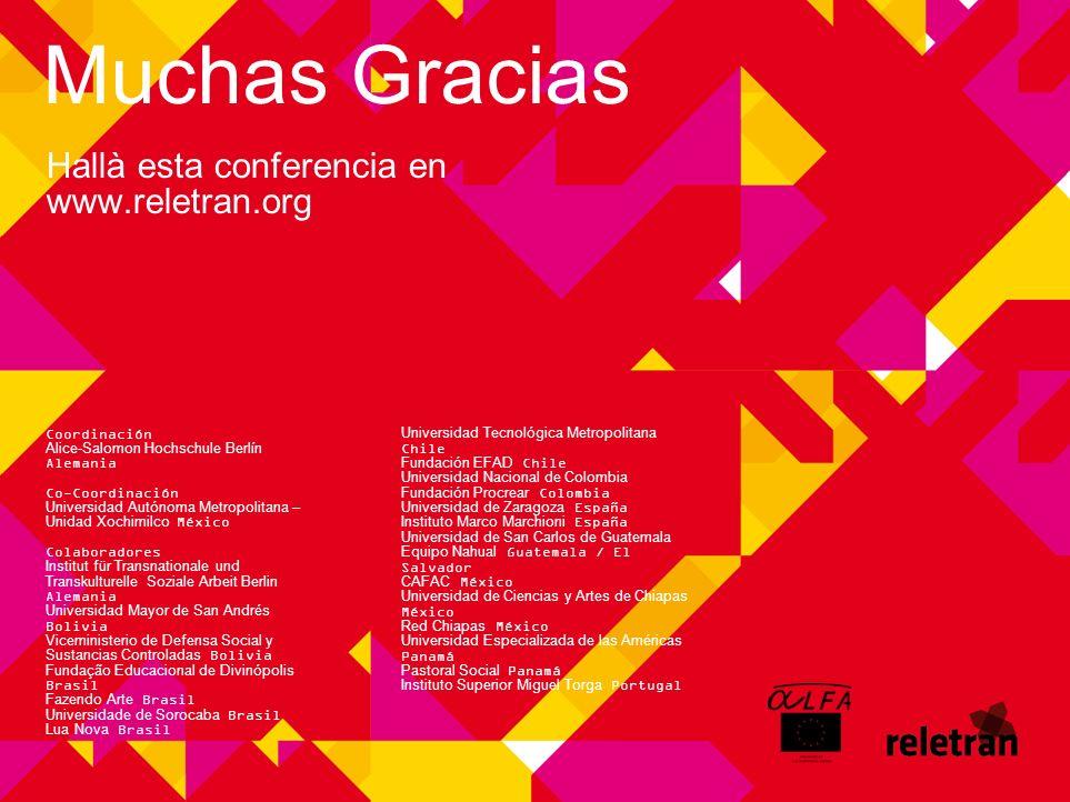 Hallà esta conferencia en www.reletran.org