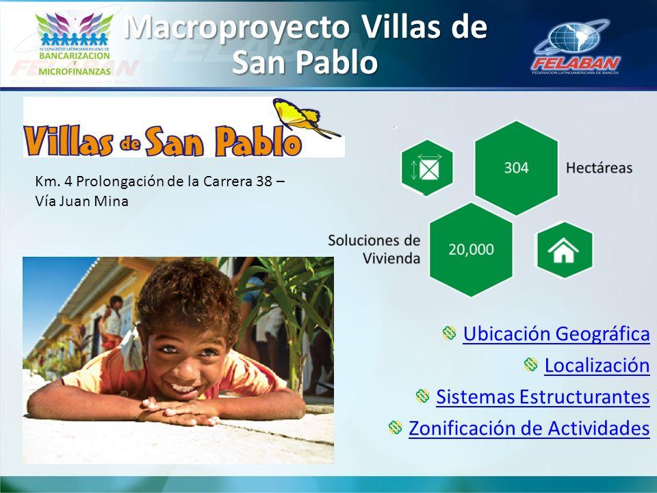 Macroproyecto Villas de San Pablo