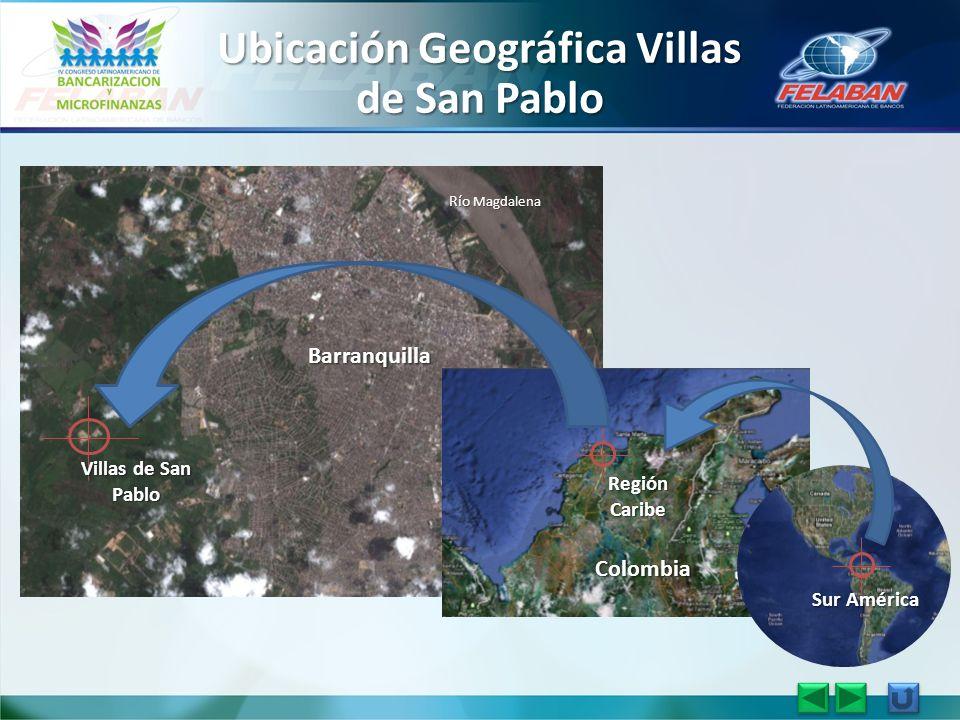 Ubicación Geográfica Villas de San Pablo