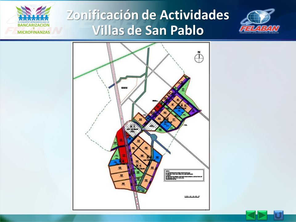 Zonificación de Actividades Villas de San Pablo