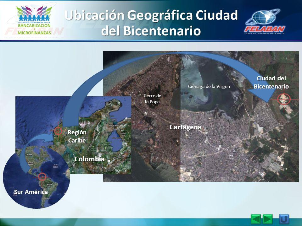 Ubicación Geográfica Ciudad del Bicentenario Ciudad del Bicentenario