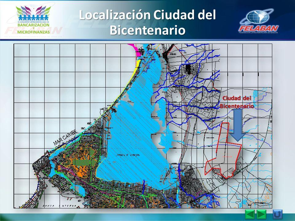 Localización Ciudad del Bicentenario Ciudad del Bicentenario