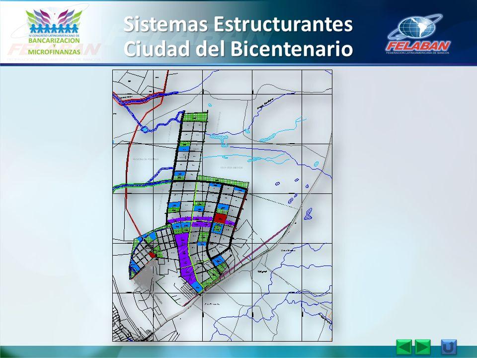 Sistemas Estructurantes Ciudad del Bicentenario