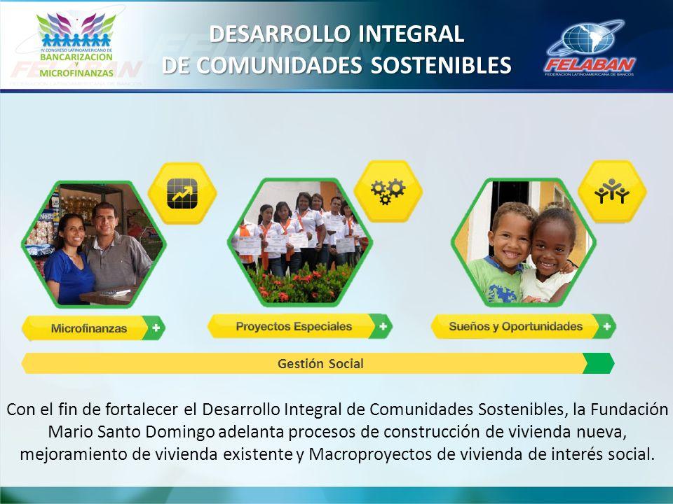 DESARROLLO INTEGRAL DE COMUNIDADES SOSTENIBLES