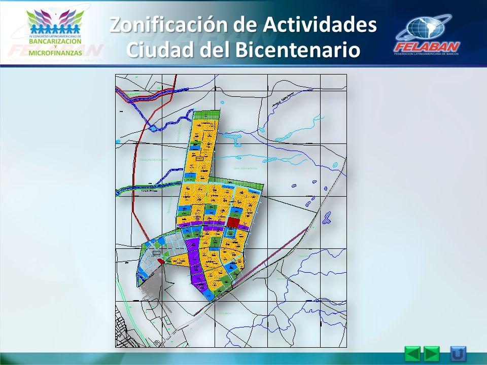 Zonificación de Actividades Ciudad del Bicentenario