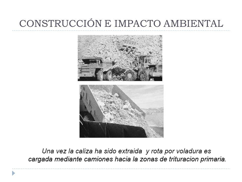 CONSTRUCCIÓN E IMPACTO AMBIENTAL