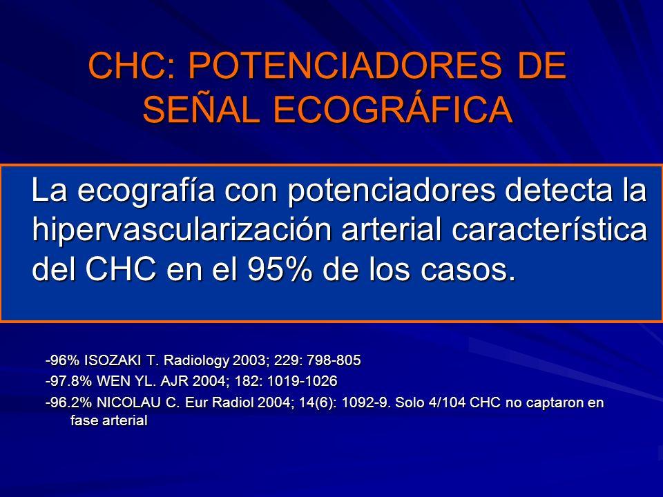 CHC: POTENCIADORES DE SEÑAL ECOGRÁFICA
