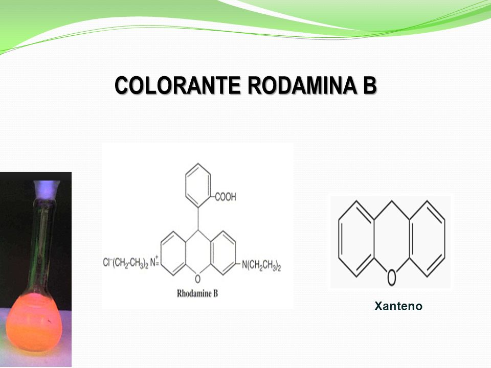 COLORANTE RODAMINA B Xanteno