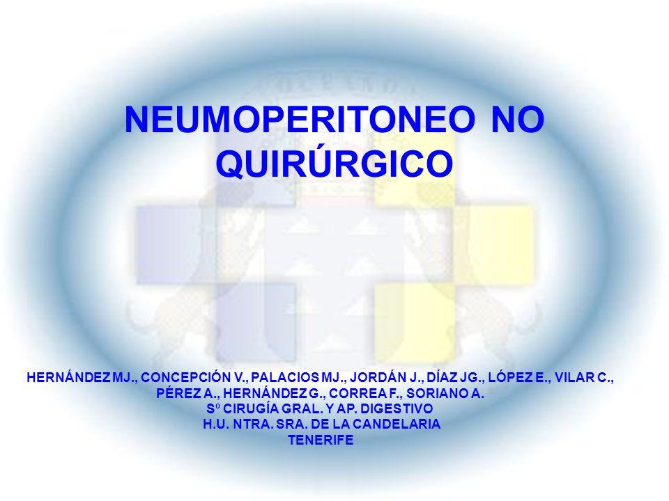 NEUMOPERITONEO NO QUIRÚRGICO