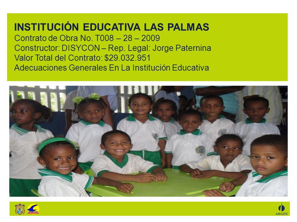 INSTITUCIÓN EDUCATIVA LAS PALMAS