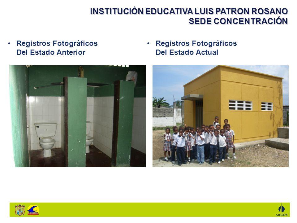 INSTITUCIÓN EDUCATIVA LUIS PATRON ROSANO SEDE CONCENTRACIÓN