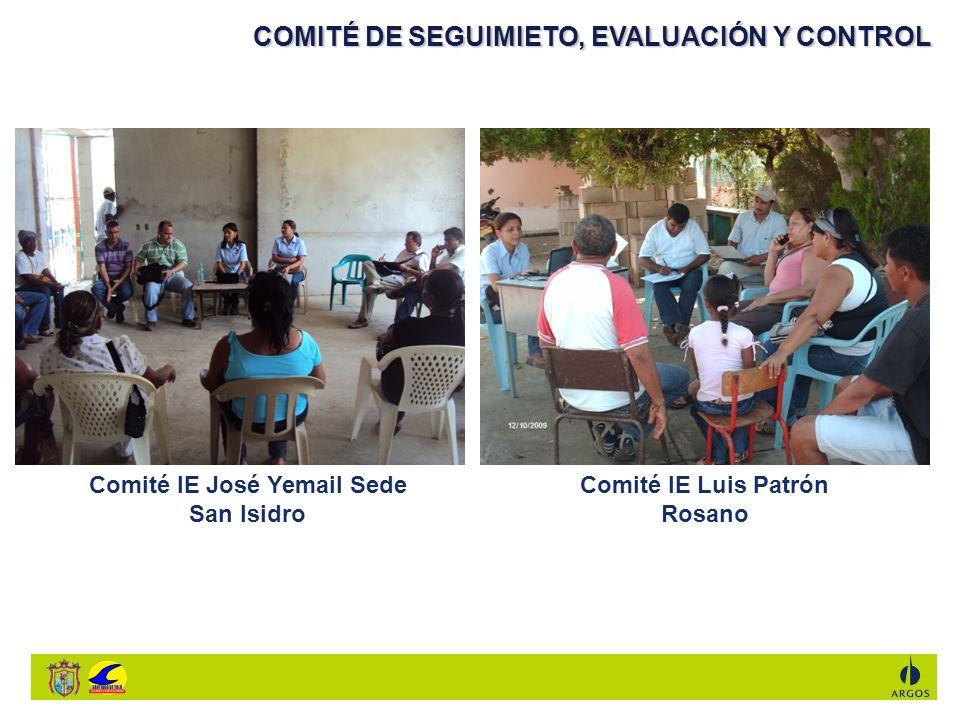 Comité IE José Yemail Sede San Isidro Comité IE Luis Patrón Rosano
