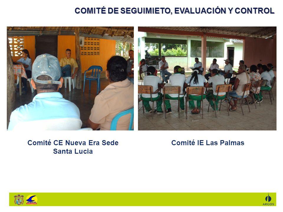 Comité CE Nueva Era Sede Santa Lucia