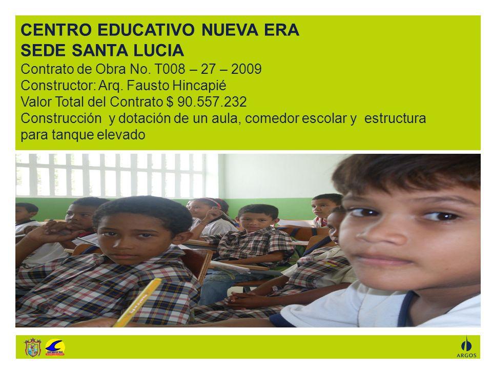 CENTRO EDUCATIVO NUEVA ERA SEDE SANTA LUCIA