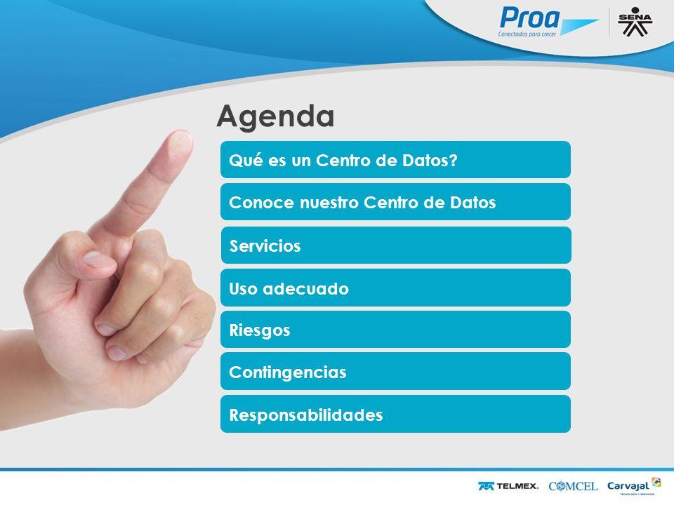 Agenda Agenda Qué es un Centro de Datos