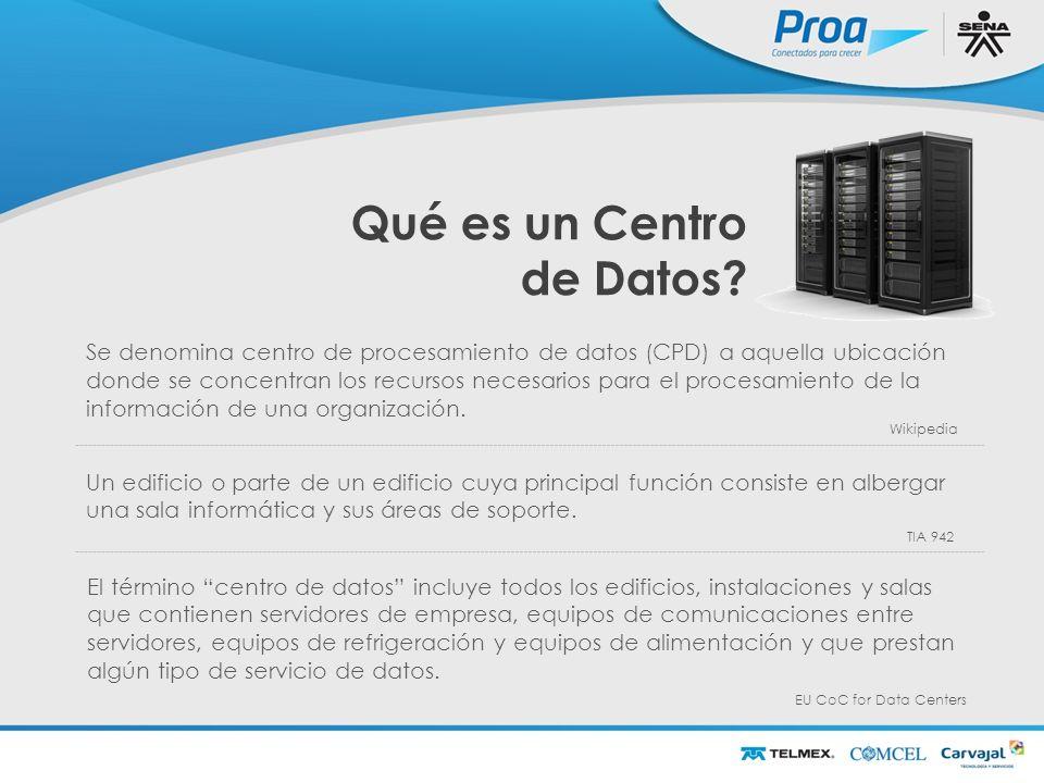 Qué es un Centro de Datos