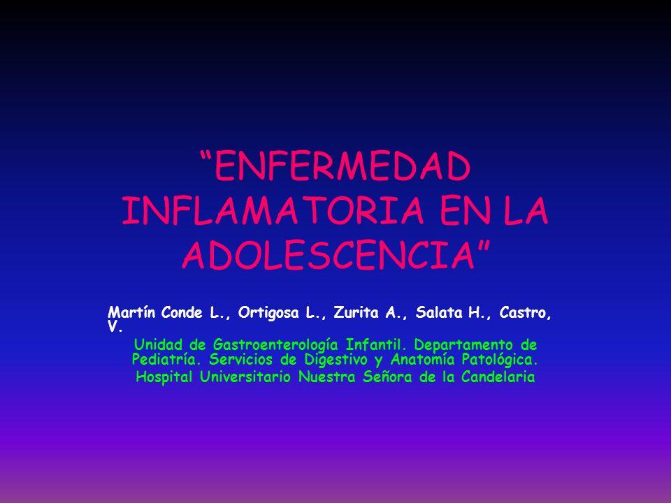ENFERMEDAD INFLAMATORIA EN LA ADOLESCENCIA