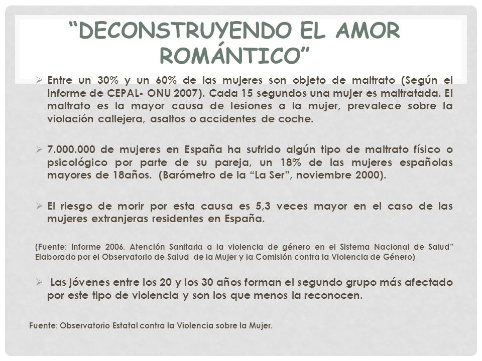 deconstruyendo el amor romántico