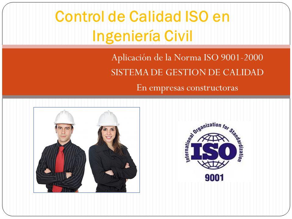 Control de Calidad ISO en Ingeniería Civil