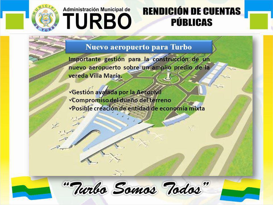 Nuevo aeropuerto para Turbo