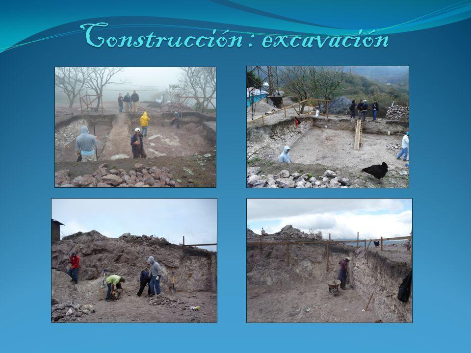 Construcción : excavación