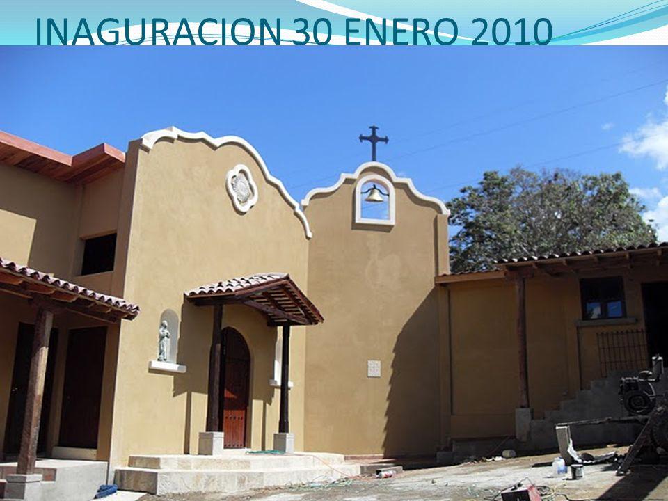 INAGURACION 30 ENERO 2010