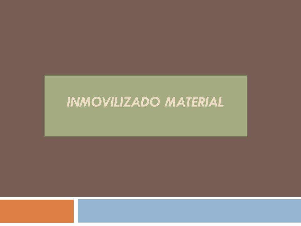 INMOVILIZADO MATERIAL