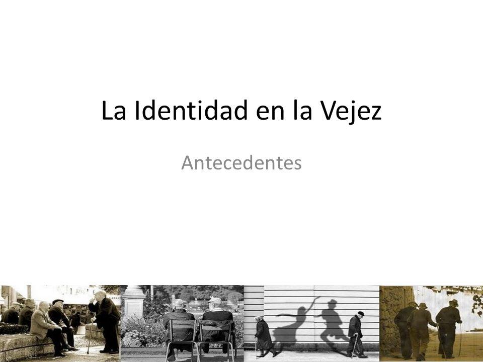 La Identidad en la Vejez