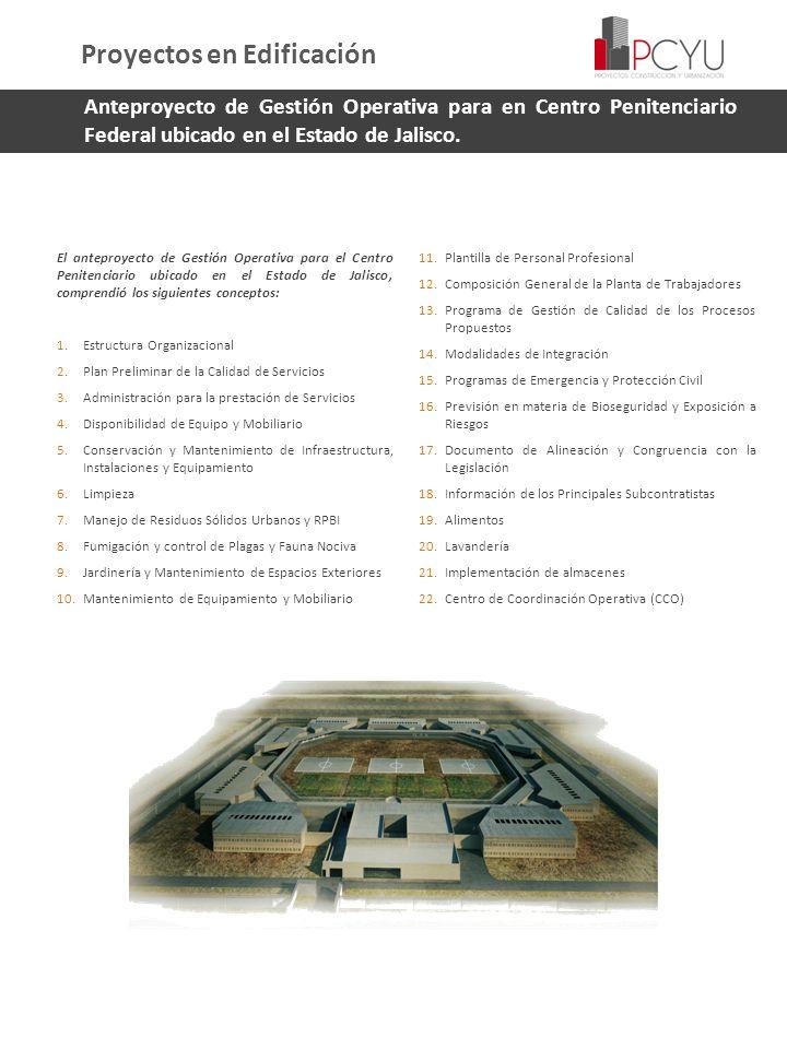 Proyectos en Edificación