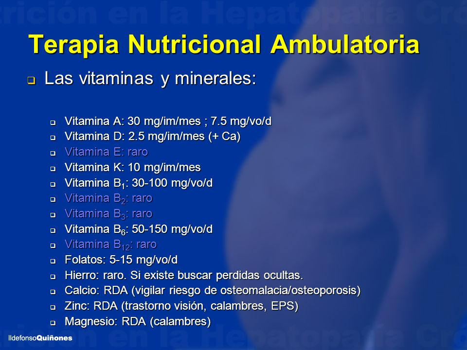 Terapia Nutricional Ambulatoria