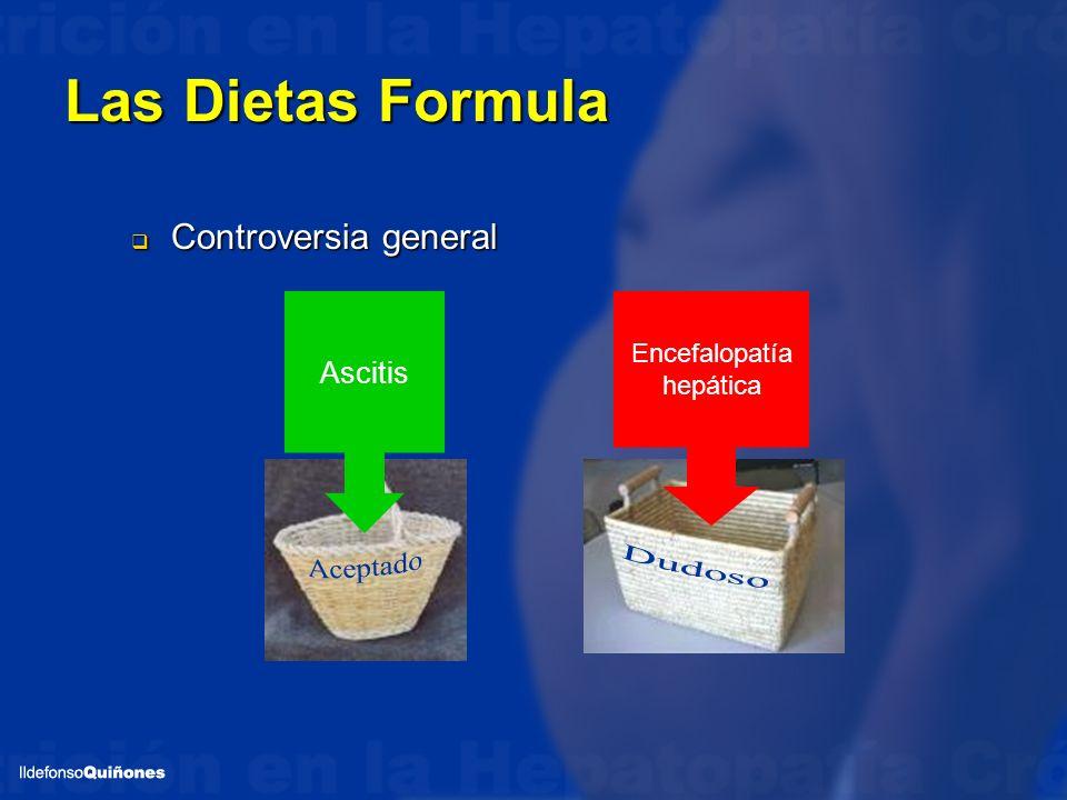 Las Dietas Formula Aceptado Dudoso Controversia general Ascitis