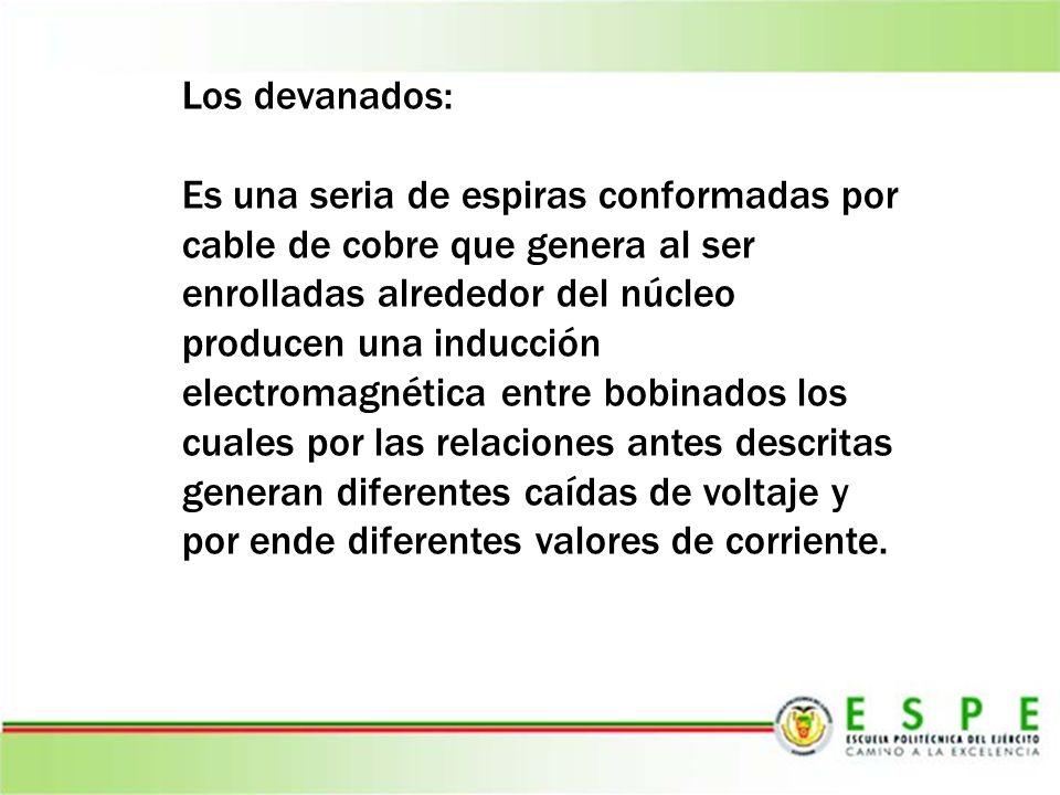 Los devanados: