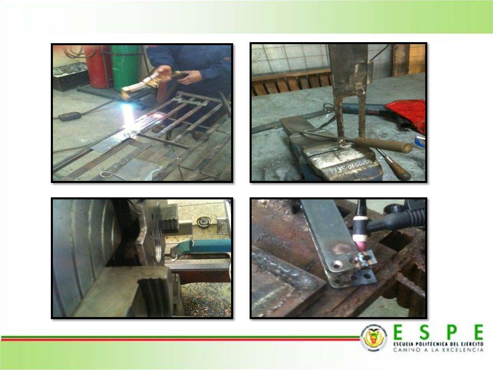 La construcción del bastidor abarco una gran cantidad de procesos de manufactura entre los cuales tenemos: