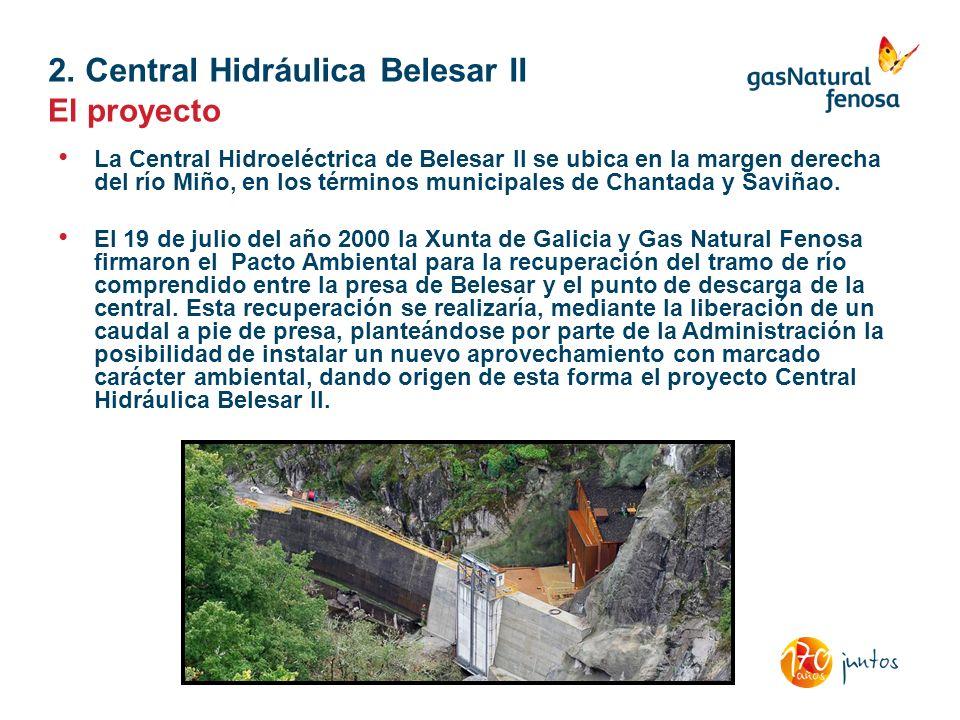 2. Central Hidráulica Belesar II