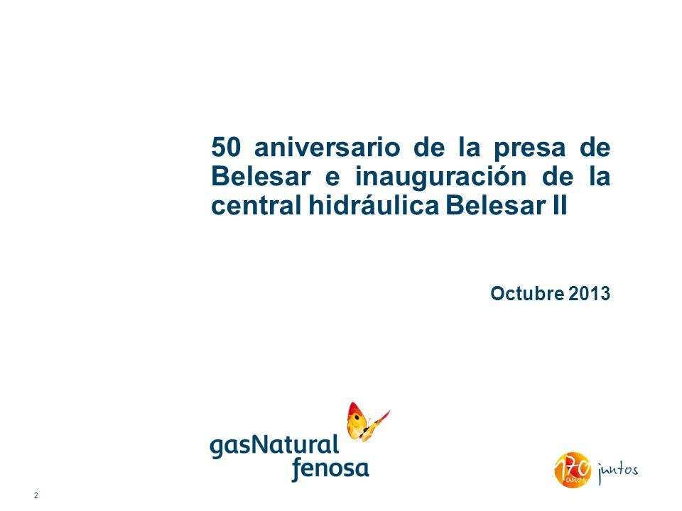 50 aniversario de la presa de Belesar e inauguración de la central hidráulica Belesar II