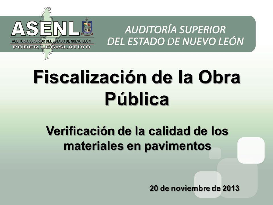 Fiscalización de la Obra Pública