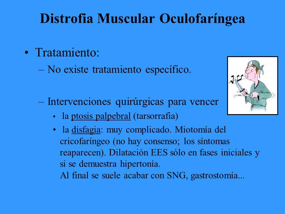 Distrofia Muscular Oculofaríngea