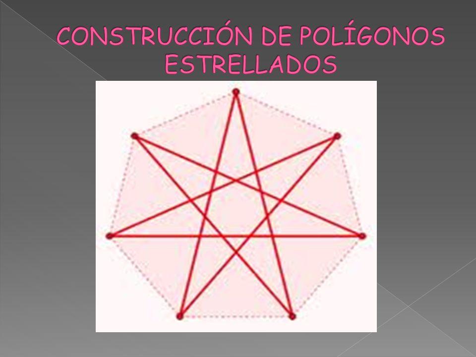 CONSTRUCCIÓN DE POLÍGONOS ESTRELLADOS