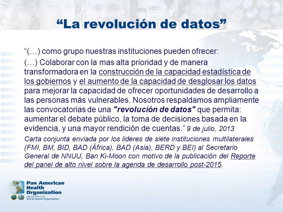 La revolución de datos
