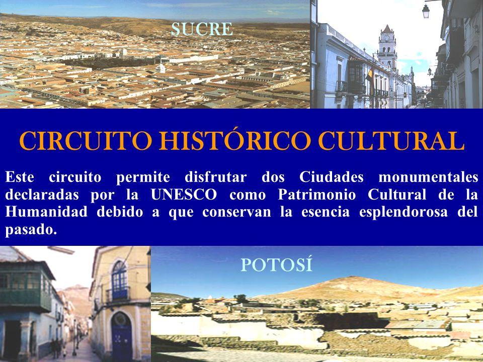 CIRCUITO HISTÓRICO CULTURAL